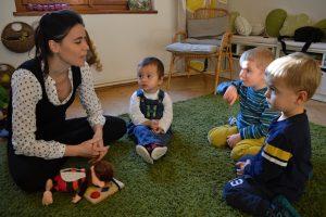 Nejmenší děti v rozhovoru s učitelkou